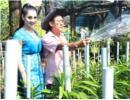 Hé lộ hình ảnh biệt thự 5000m2 của gia đình Lâm Chi Khanh
