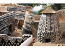 """Nhà xây bằng phân bò """"độc và đẹp"""" của bộ tộc Tây Phi"""