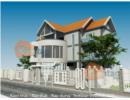 Thiết kế biệt thự 2,5 tầng với giải pháp tránh nắng tốt