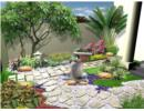 Cách thiết kế sân vườn cho biệt thự, nhà phố