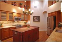 Trang trí nội thất để phá vỡ sự đơn điệu của phòng bếp