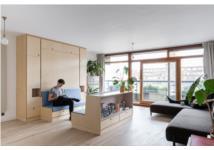 Hô biến căn hộ nhỏ thành phòng tập khiêu vũ trong tích tắc với nội thất đa năng