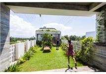 Công viên ngoài trời trên sân thượng ngôi nhà 700 m2 ở Đà Nẵng