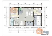 Tư vấn thiết kế biệt thự 2,5 tầng trên khuôn viên 500m2