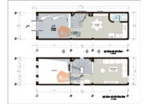 Thiết kế nhà 4 tầng đẹp trên diện tích đất 30m2