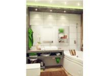 Những phòng tắm nhỏ đẹp với màu sắc thư giãn