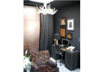 Căn nhà 32m2 cá tính và huyền bí với gam màu đen