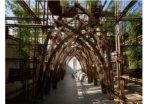 Công trình nhà tre của Công ty Võ Trọng Nghĩa dự triển lãm ở Tokyo