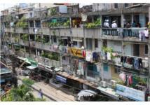 Rùng mình những hình ảnh chung cư xuống cấp ở Sài Gòn