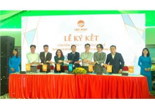 Nhiều thương hiệu uy tín hợp tác đầu tư shophouse Lộc Phát Residence