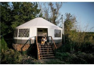 Cặp đôi dựng lều yurt tìm cuộc sống yên bình giữa thiên nhiên