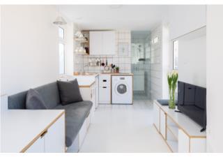 Ghé thăm căn hộ siêu nhỏ 16m2 đầy tiện ích ở Libăng