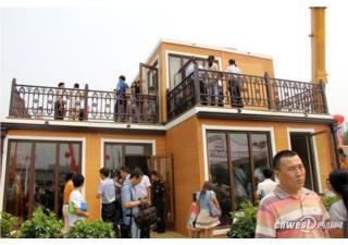 Trung Quốc xây biệt thự hai tầng trong ba tiếng
