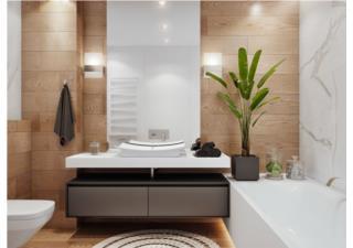 Những lưu ý khi thiết kế phòng tắm trong phòng ngủ