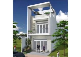 Tư vấn thiết kế xây nhà 2 tầng, 1 tum với kinh phí 589 triệu đồng