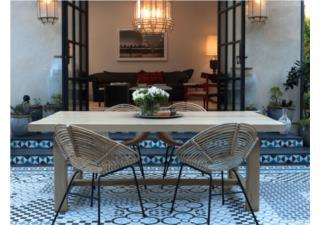 Ứng dụng gạch bông họa tiết theo phong cách Bồ Đào Nha