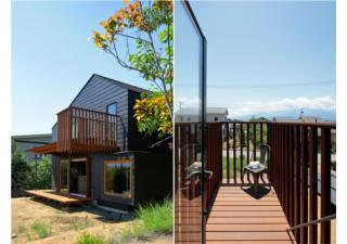 Ngắm ngôi nhà gỗ xinh xắn 74m2 không hề có vách ngăn