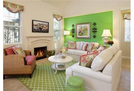Cách phối màu để có phòng khách sang trọng